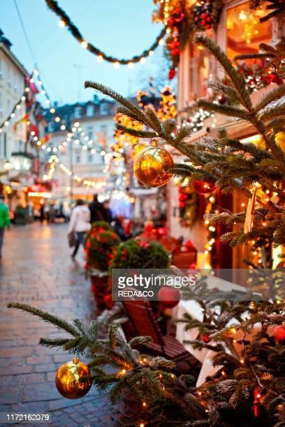 Christmas, Baden Baden, Baden Wurttemberg, Germany.