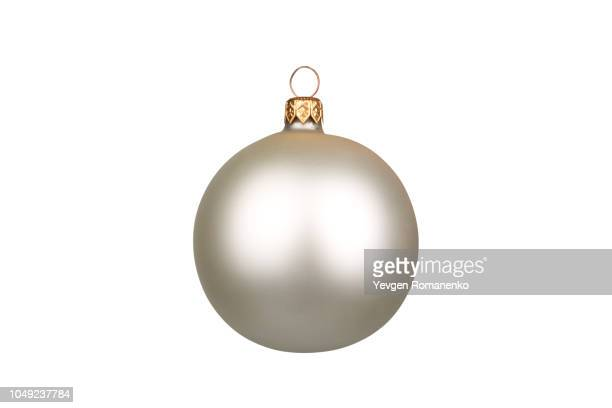 Christmas ball isolated on white background