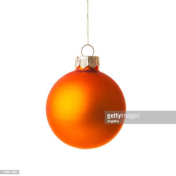 Christmas ball, isoliert auf weiss