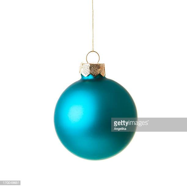 Christmas ball, isolated on white