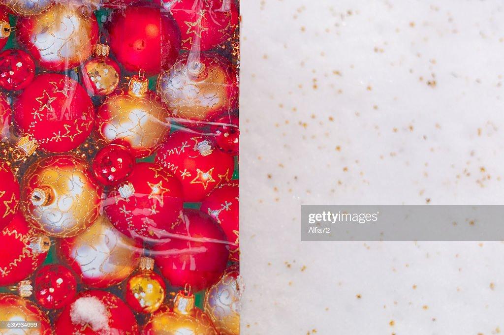 Christmas ball : Stock Photo