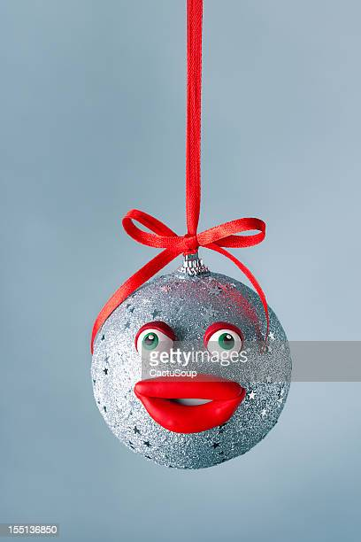 christmas ball portrait - bottomless girl stock pictures, royalty-free photos & images