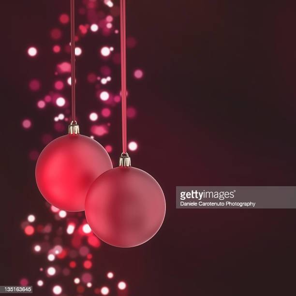 christmas balls - daniele carotenuto stock pictures, royalty-free photos & images