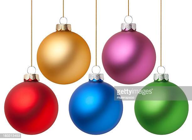christmas balls - sphere stock pictures, royalty-free photos & images