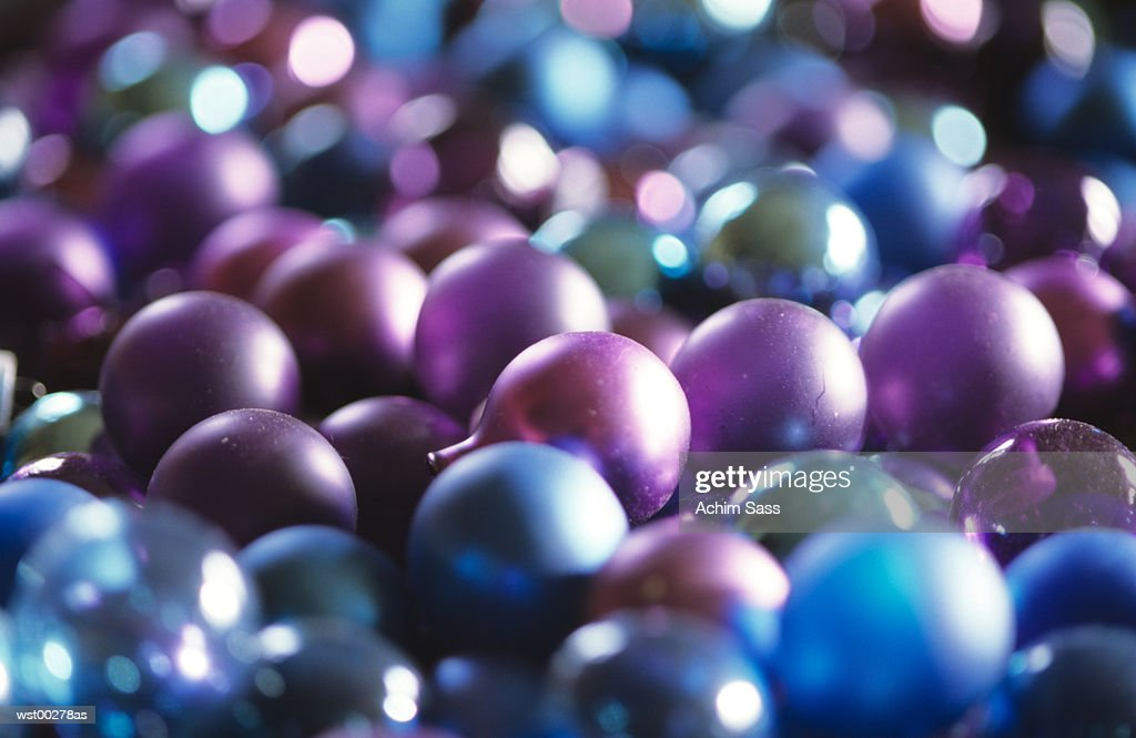 Christmas baubles : Stock Photo