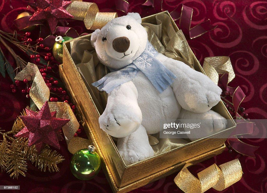 Christmas Bear : Stockfoto