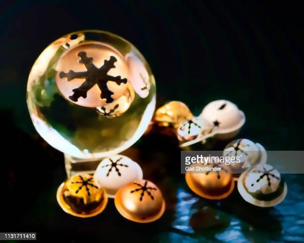 Christmas Bells in Crystal