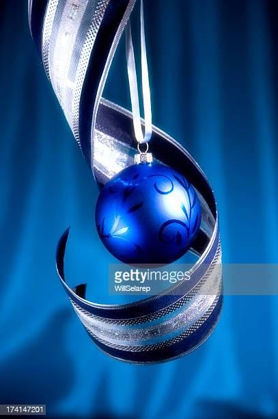 Christmas Blue-Schmuckteil