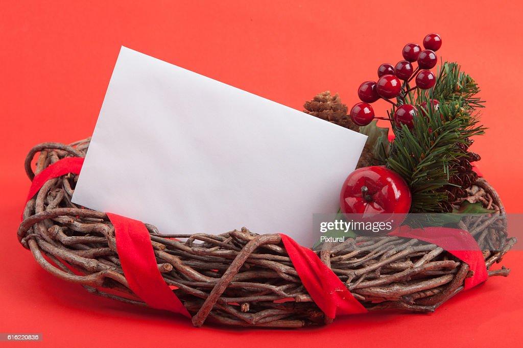 Christmas Border : Stockfoto