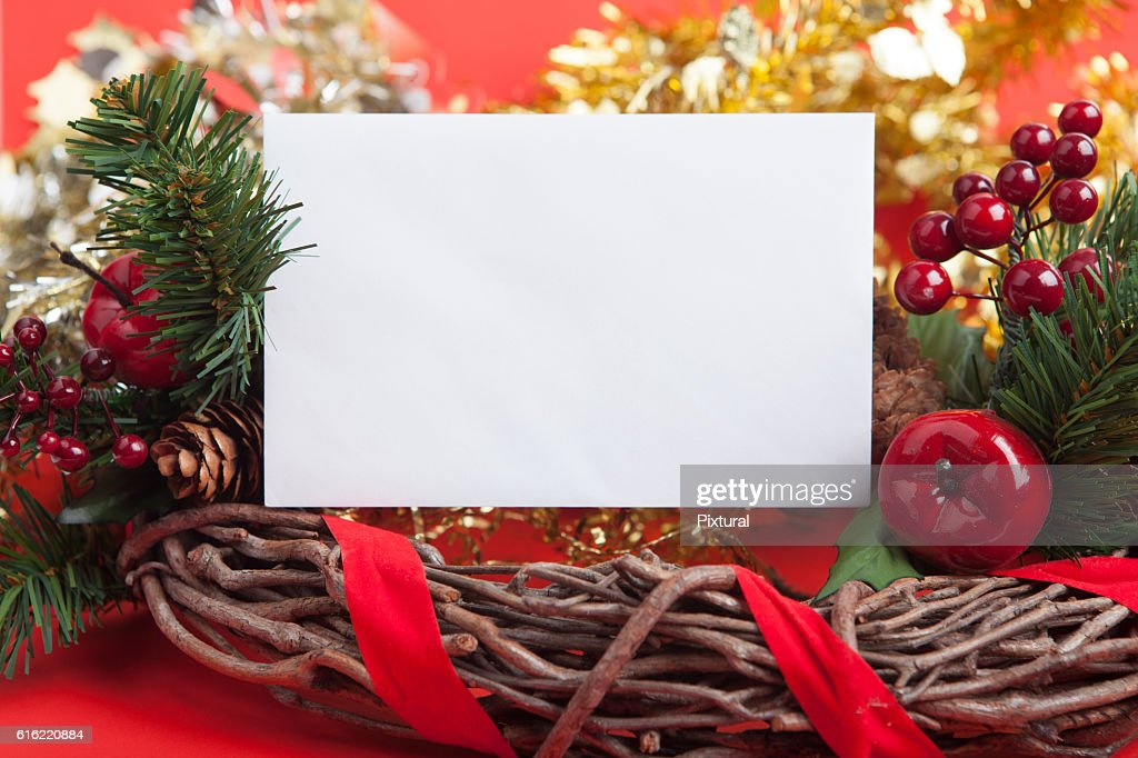 Christmas Border : Stock Photo