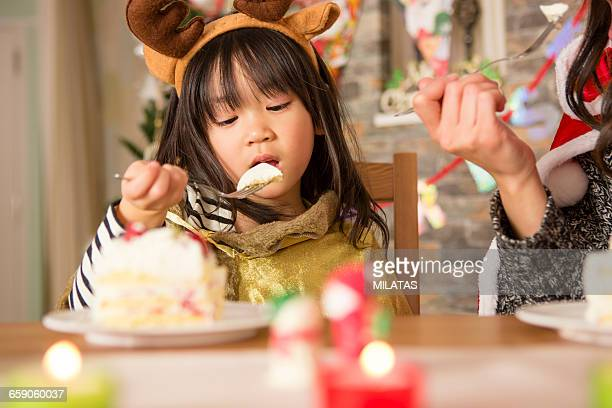 Christmas cake and the japanese parent-child