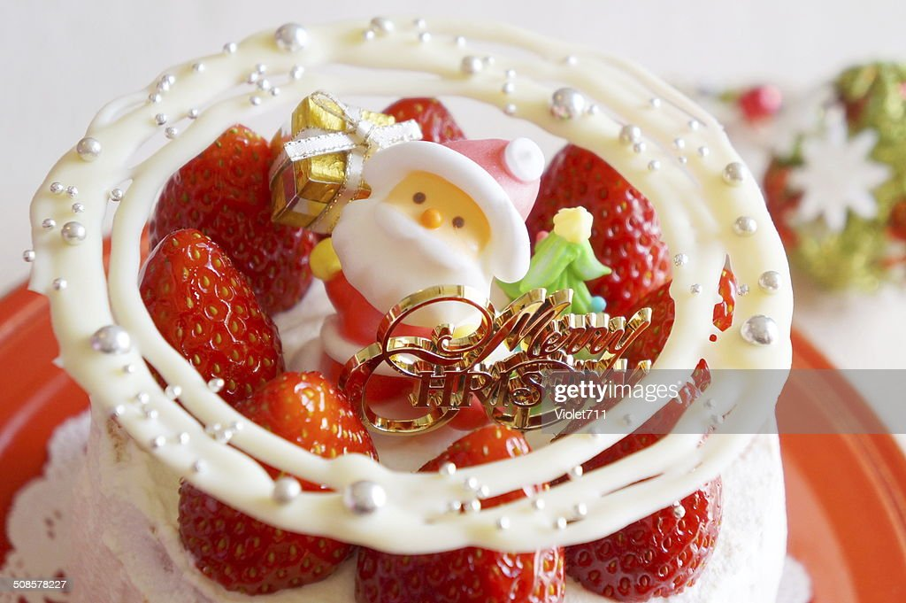Christmas Cake : Stock Photo