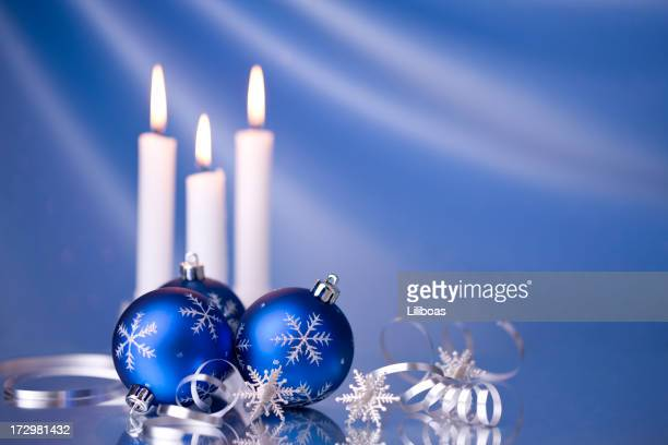 Christmas Candles & Baubles (XXL)