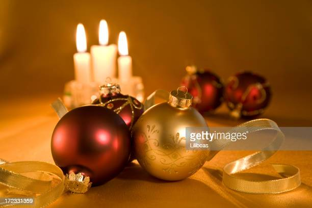 Christmas Candles & Baubles (XL)