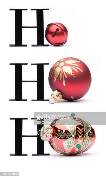 HOHOHO クリスマスカードのコンセプト