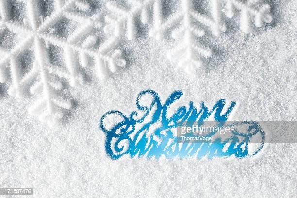 クリスマスカード-ツリー雪の冬のウィンドウ