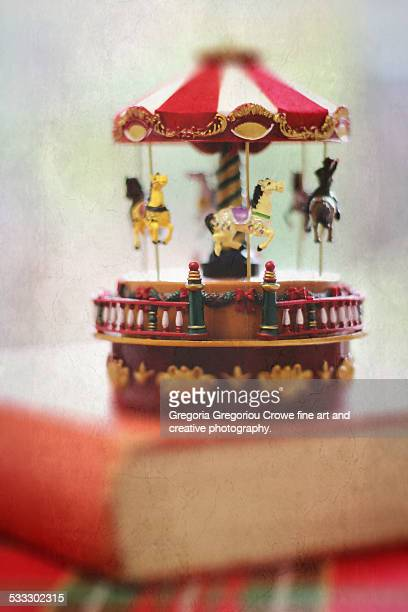 christmas carousel - gregoria gregoriou crowe fine art and creative photography. stock pictures, royalty-free photos & images