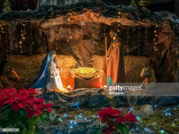 christmas celebration in mexico - catholic church christmas stock photos and pictures