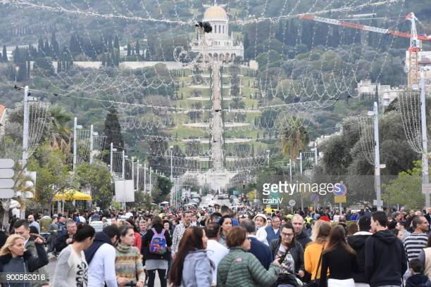 Christmas celebrations in Haifa Israel
