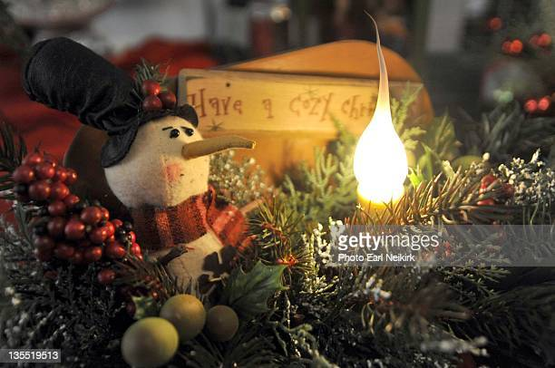 christmas centerpiece - neikirk stock pictures, royalty-free photos & images