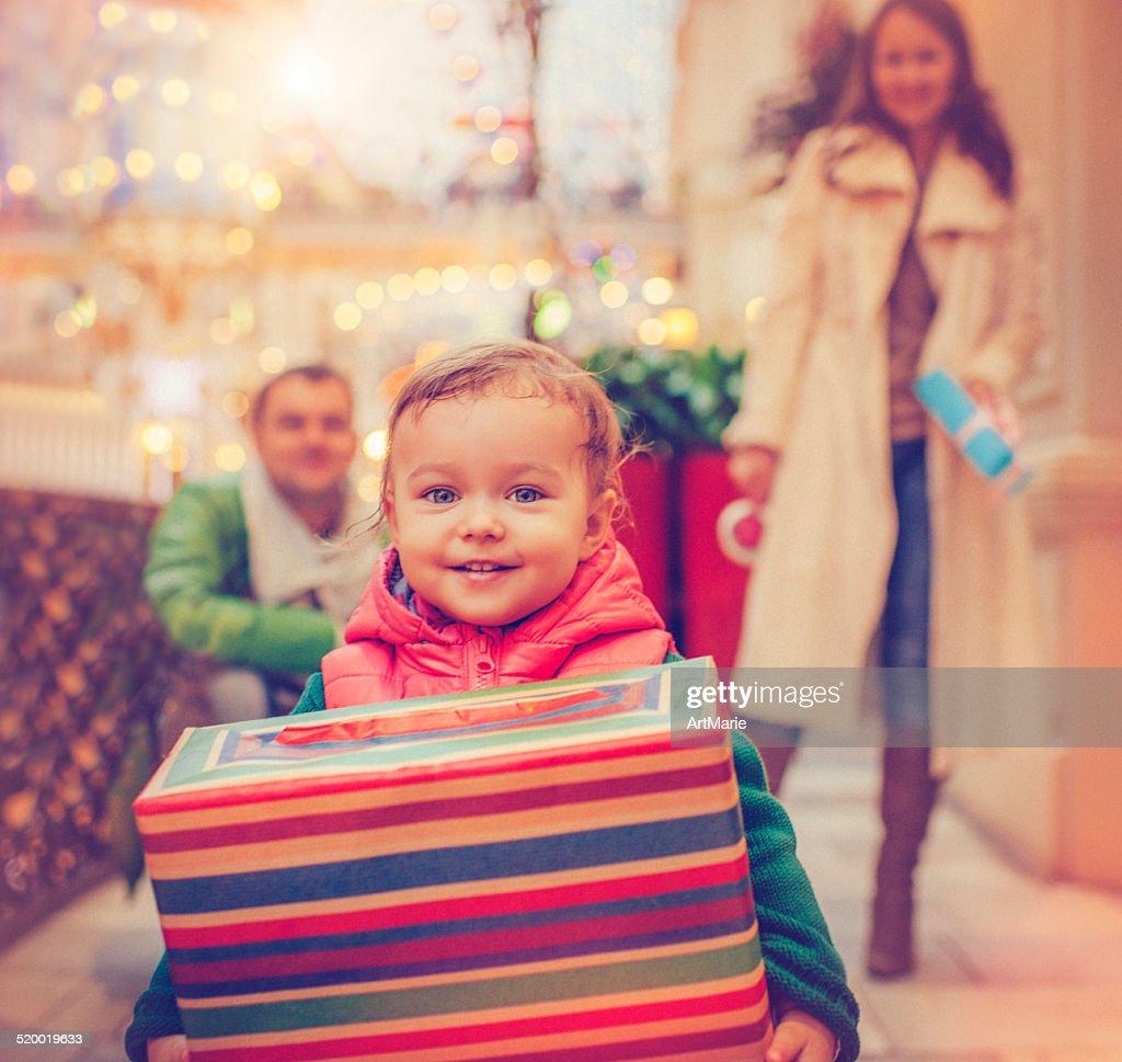 Christmas child : Photo