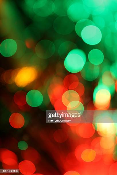 Christmas color light background