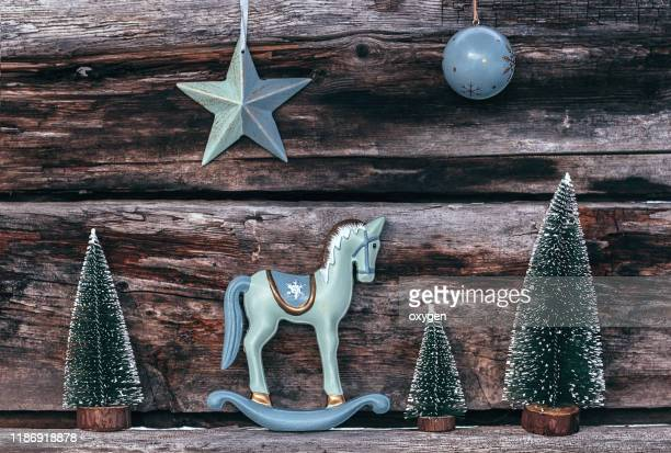 2 504 Christmas Horse Photos And Premium High Res Pictures Getty Images