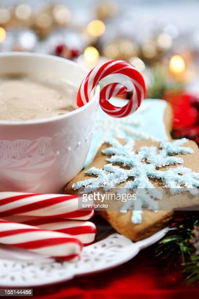 Christmas- cookies and hot chocolate