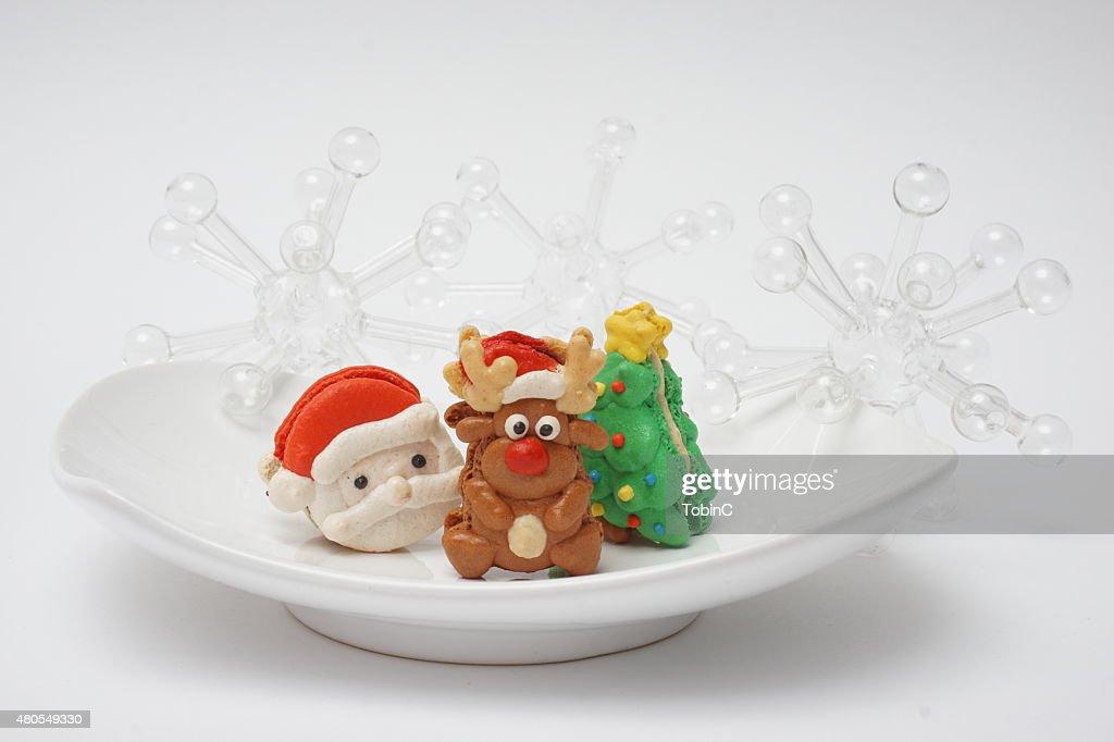 cookies de Natal : Foto de stock