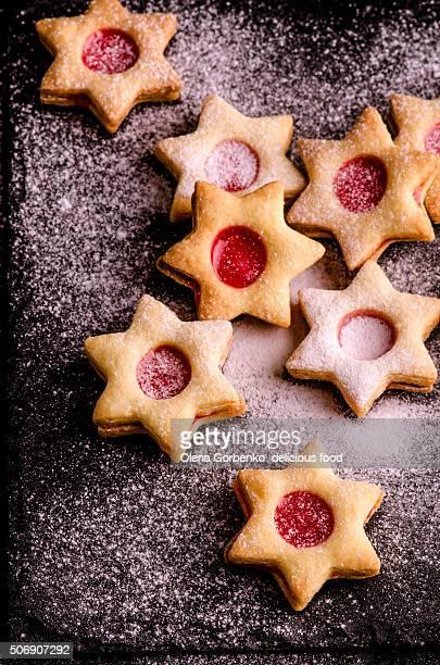 Christmas cookies stars
