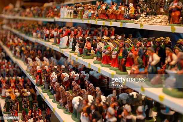 Christmas crib 'santons' for sale