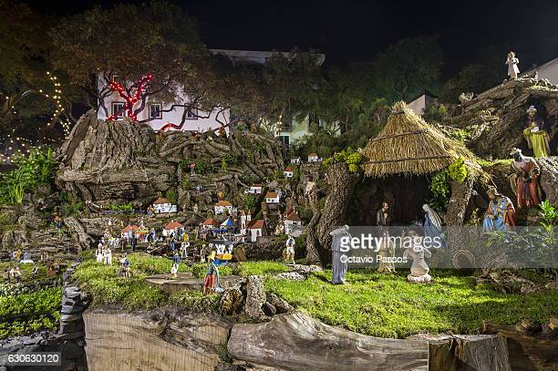Christmas crib set up in Funchal on December 29, 2016 in Funchal, Madeira, Portugal.