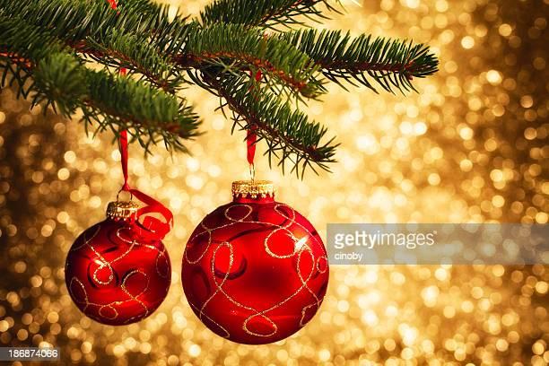Weihnachtsdekoration hängen Tree