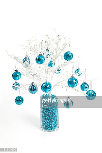 Christmas Decoration in Turquoise