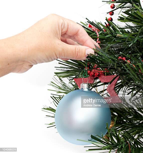 christmas decoration - andrew dernie foto e immagini stock