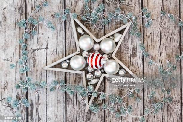 christmas decoration - larissa veronesi stock-fotos und bilder