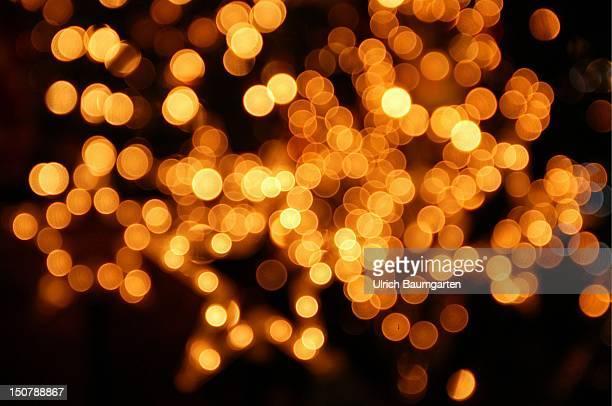 Christmas decoration shining stars