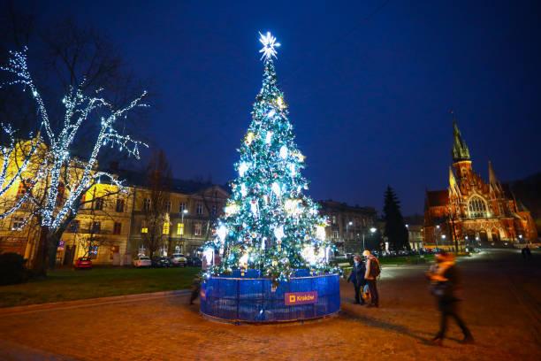 POL: Christmas Decoration In Krakow, Poland