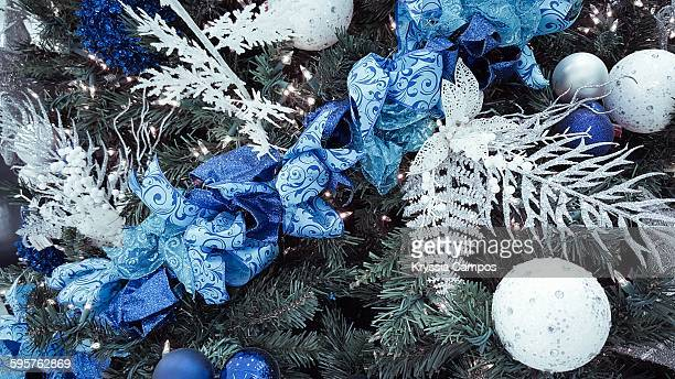 christmas decorations - christmas background stock photos and pictures