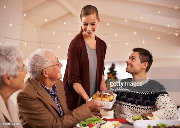 Jantar de Natal da família