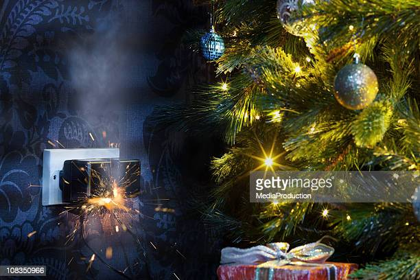 christmas disaster - hazard stock pictures, royalty-free photos & images
