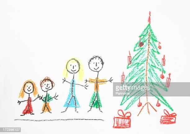 Weihnachten-Zeichnung
