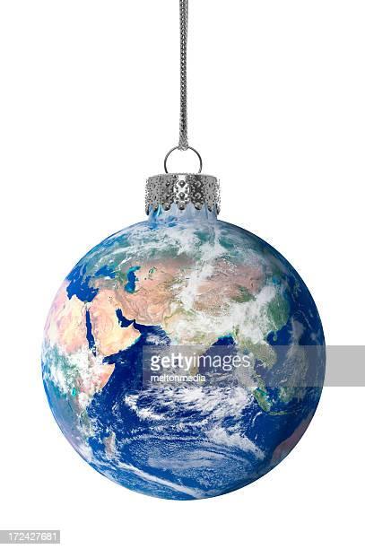 Weihnachten Erde-Ornament