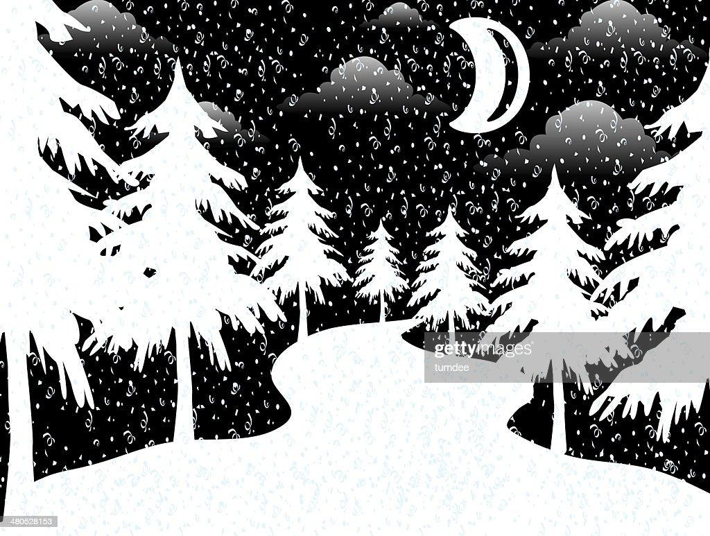 Elementi di Natale illustrazioni : Foto stock