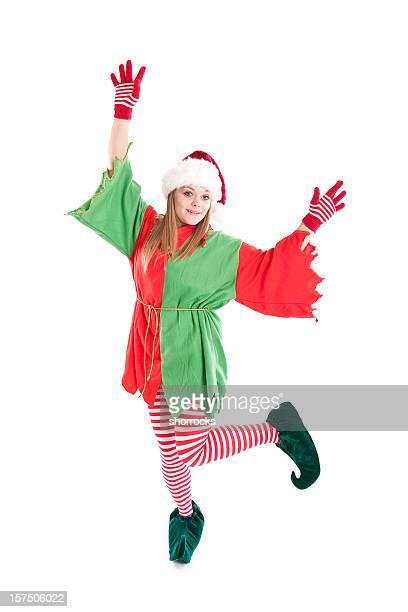 Noël Elf danse