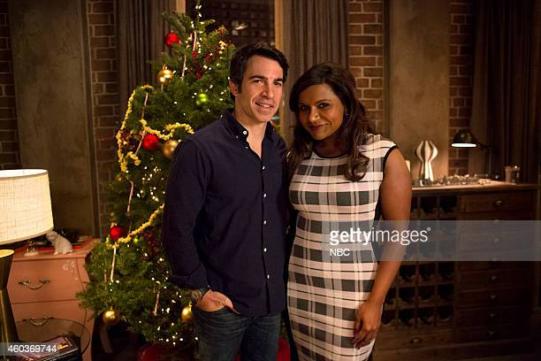 PROJECT 'Christmas' Episode 311 Pictured Chris Messina as Danny Castellano Mindy Kaling as Mindy Lahiri