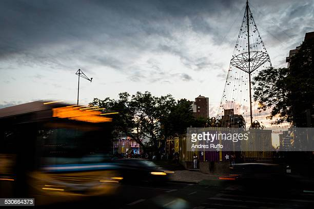 christmas eve in cordoba, argentina - andres ruffo stock photos and pictures