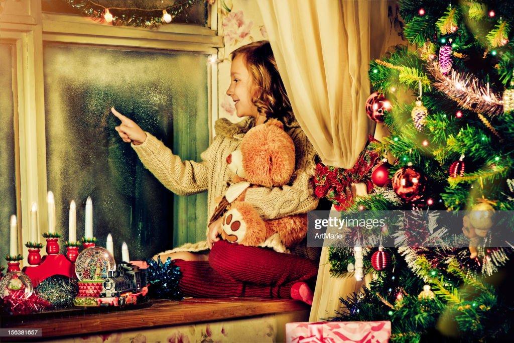 Christmas evening : Stock Photo
