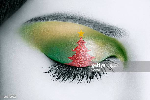 Natale palpebra Make-up