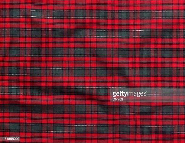 Christmas Fabric Background
